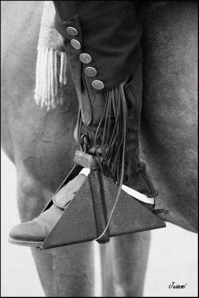 Estribo vaquero