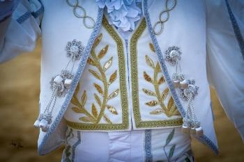 Detalle del vestir en la Pinzoniana de Palos de la Frontera