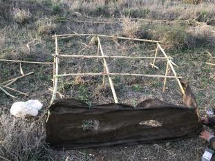 Estructura  de hide para dos personas